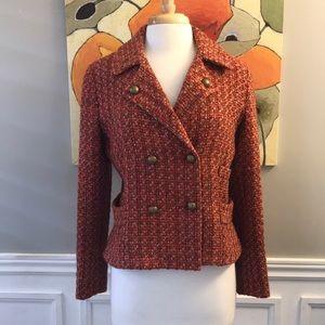 Holt Renfrew tweed jacket size 10